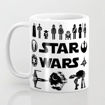 Caneca Star Wars Characters