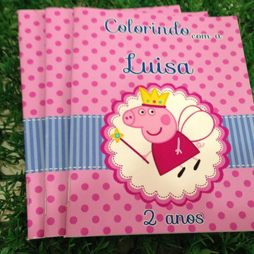 Revistinha Colorir Peppa Pig