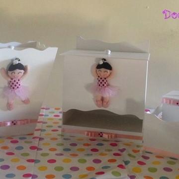 Kit Higiene MDF Bailarina