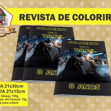 Revista Para Colorir STAR WARS