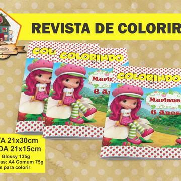 Revista Para Colorir MORANGUINHO