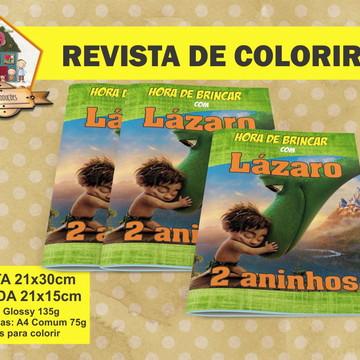 Revista Para Colorir O BOM DINOSSAURO