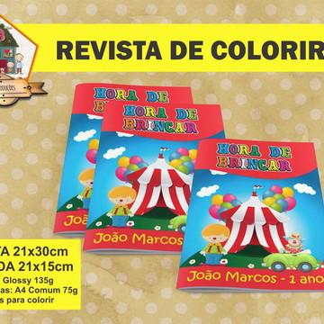 Revista Para Colorir CIRCO