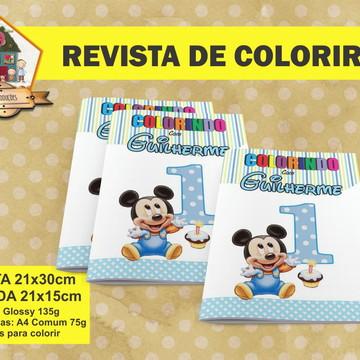 Revista Para Colorir DISNEY BABY