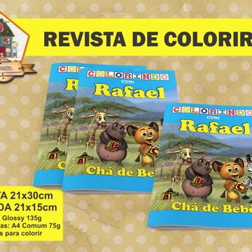 Revista Para Colorir MADAGASCAR BABY