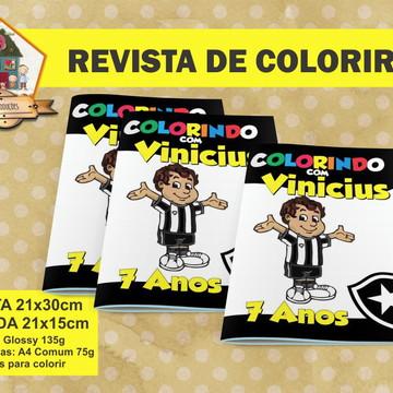 Revista Para Colorir BOTAFOGO
