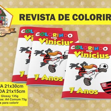 Revista Para Colorir FLAMENGO
