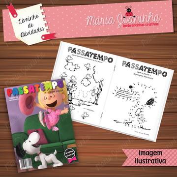 Livro de Atividades Snoopy