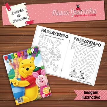 Livro de Atividades Ursinho Pooh