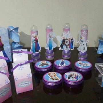 Kit personalizados Frozen 50 pcs