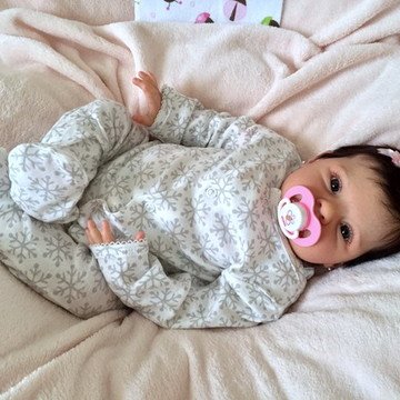 Bebê Reborn Larissa 03, 2016. ADOTADA!!