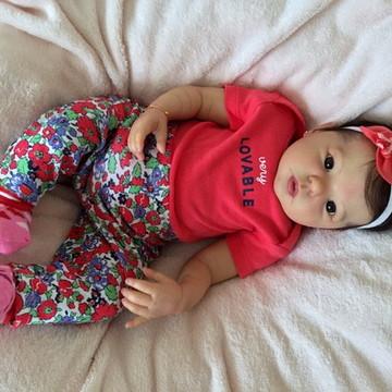 Bebê Reborn Valentina 2016. ADOTADA!!