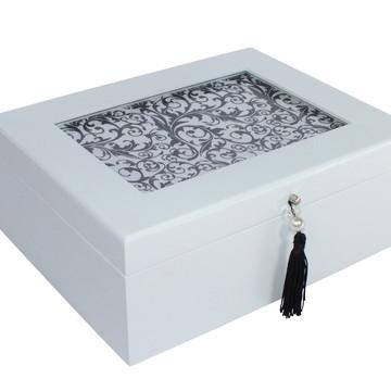 Caixa Organizadora Decorativa Arabesco