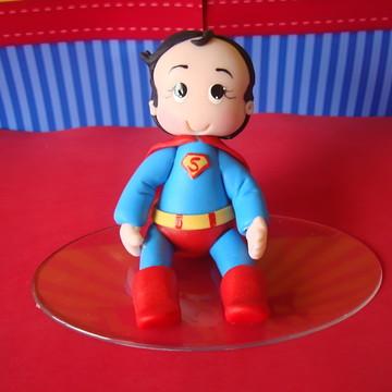 TOPINHO DE BOLO SUPER MAN