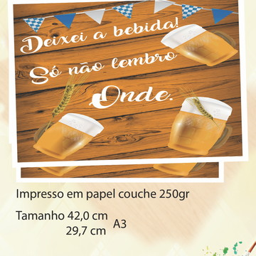 Poster -Bar