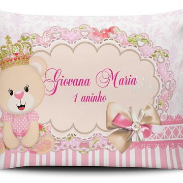 Almofada Personalizada Princesa Ursinha