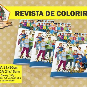 Revista Para Colorir PRINCIPES