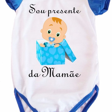 Body Bebe Presente Mamãe