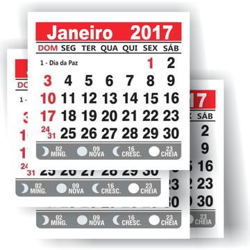 Mini Calendário para personalização 2019