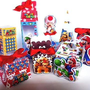 Arquivo Silhouette Mario Bros
