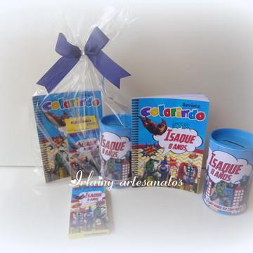 Kit de colorir vingadores