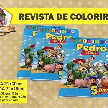 Revista Para Colorir TOY STORY