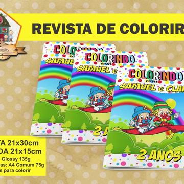 Revista Para Colorir PATATI PATATA
