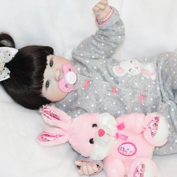 Boneca Bebê Reborn Suzane