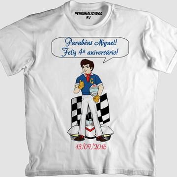 Camisa SPEED RACER PERSONALIZADA