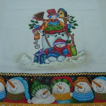 Panos de Copa Natal pintados
