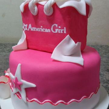 Bolo pasta americana American Girl