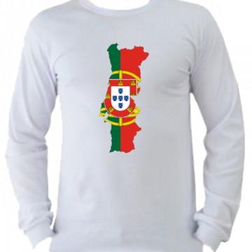Camiseta Portugal manga longa 3