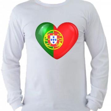 Camiseta Portugal manga longa 4