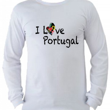 Camiseta Portugal manga longa 5