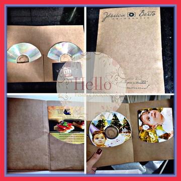Case para foto impressa + CD