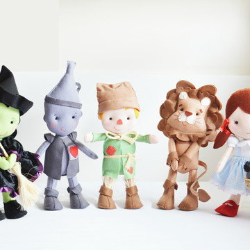 Aluguel - Personagens Mágico de Oz