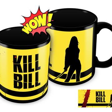 Caneca Preta - Kill Bill