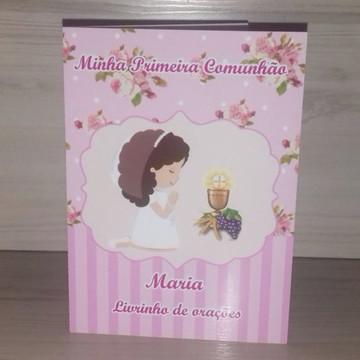 Livrinho de Orações Primeira Comunhão Menina
