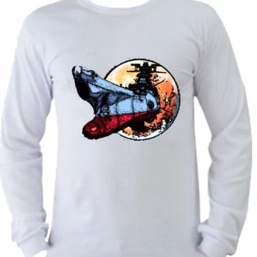 Camiseta Patrulha Estelar manga longa 2