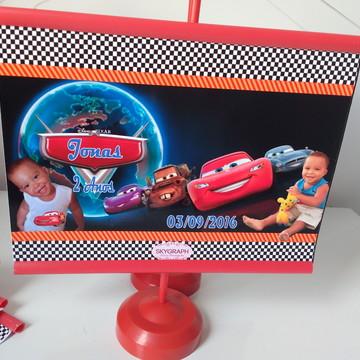 Mini Banner de Mesa 10x15 Carros