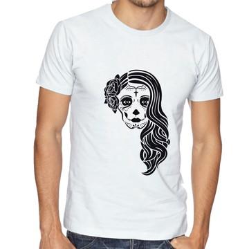 Camiseta Masculina Skull Katrina