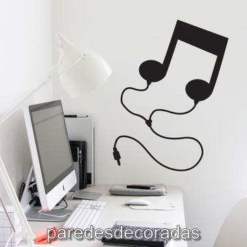 Adesivo Nota Musical com Plugue