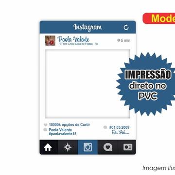 Placa Para Foto em Pvc Instagram