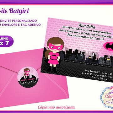 Convite Batgirl