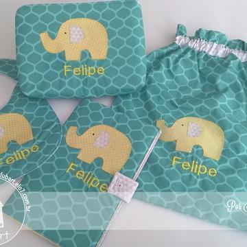 Kit Passeio Elefantinho- Personalizado