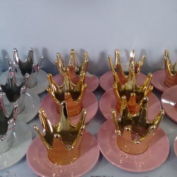 Coroa porcelana