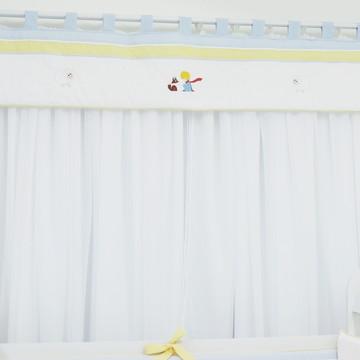 Cortina Quarto de Bebê Pequeno Príncipe