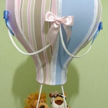 Lustre balão Gêmeos Casal safari