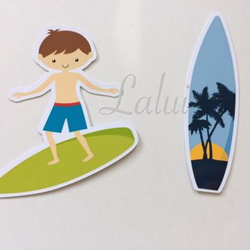 Aplique Tubete Praia - Surf