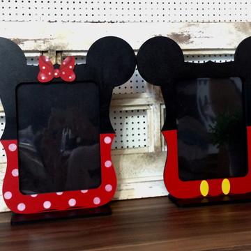 Duo porta Retrato Mickey e Minnie